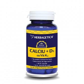 CALCIU +D3 cu vit K2