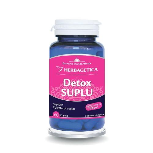 Herbagetica Detox Suplu - 60 comprimate