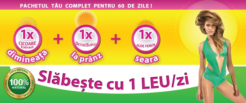 Detox Suplu, 30 capsule, Herbagetica : Farmacia Tei Pastile de slabire detox